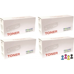 4x toner HP W2070A W2071A W2072A W2073A zamienniki HP 117A do HP Color Laser 150, 178, 179
